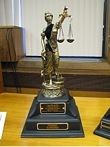 St. Clair County Mock Trial Trophy
